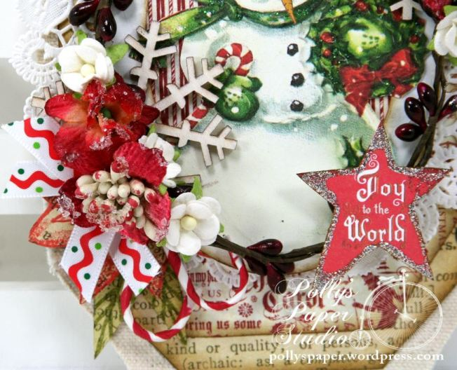 Joy to the World Tag Ornament 2
