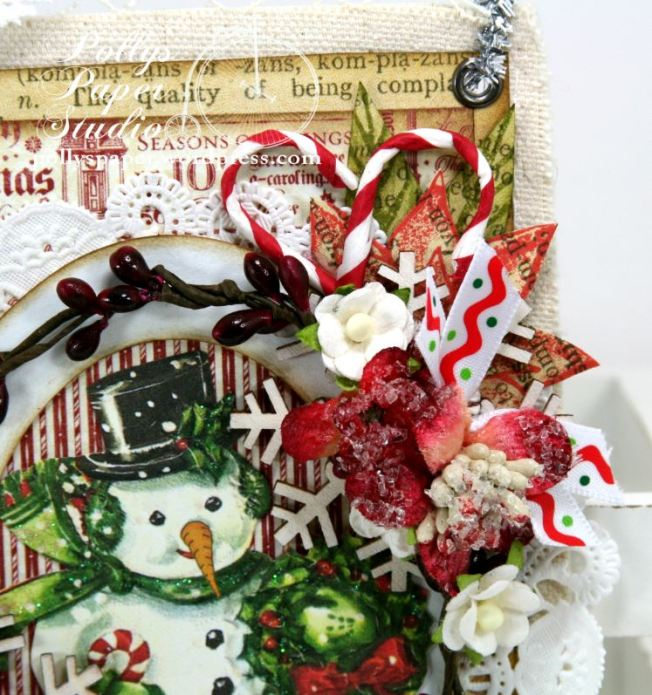 Joy to the World Tag Ornament 3