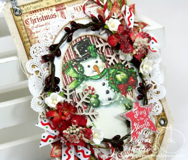 Joy to the World Tag Ornament 5