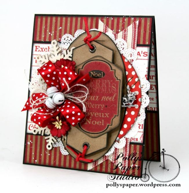 Noel and Merry Christmas Greeting Card 1