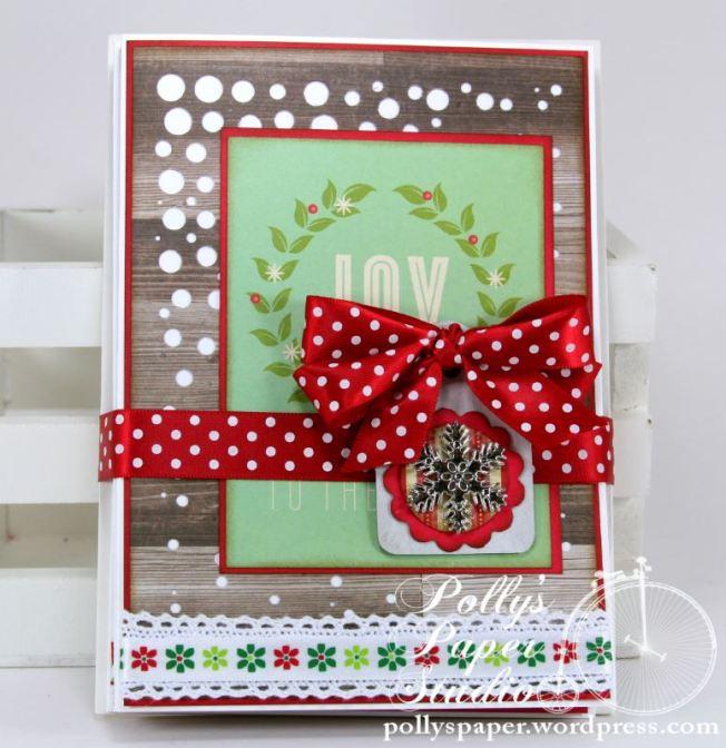 Retro Christmas Greeting Card Set 1