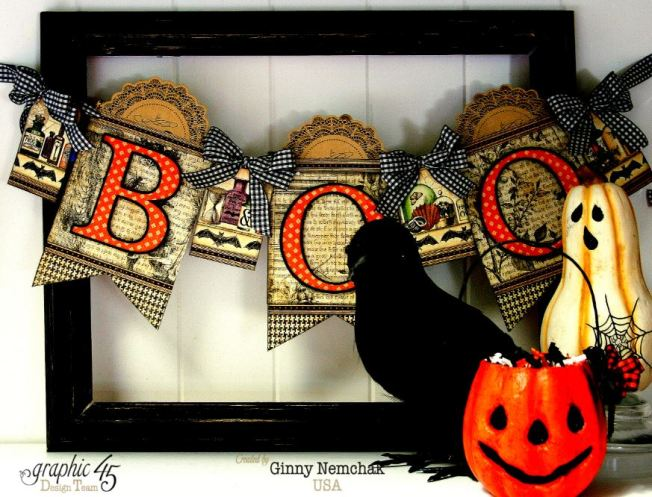 Simply g45 Halloween Banner