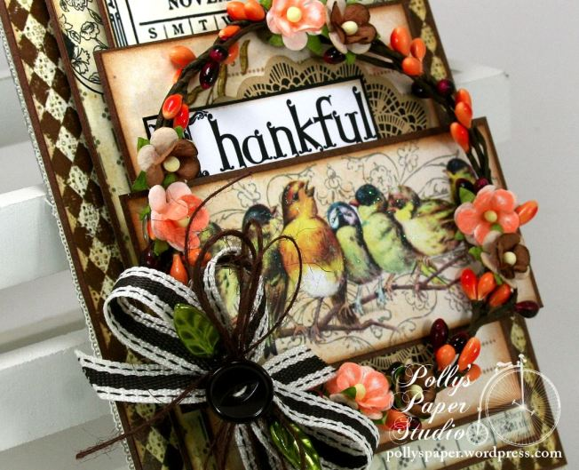 Thankful Birds Wall Hanging 1