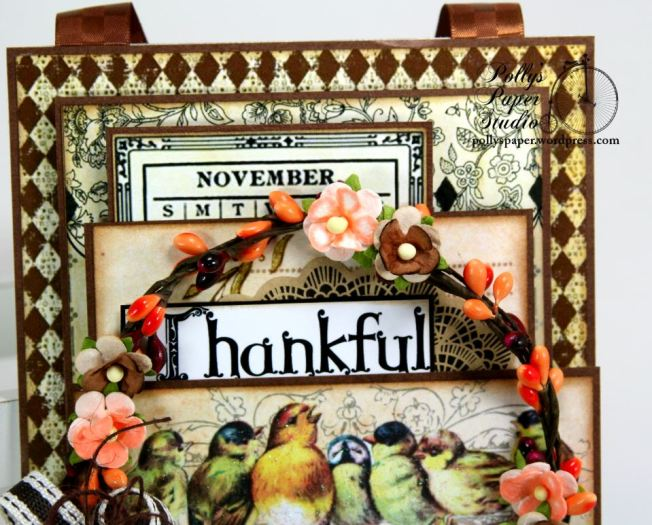 Thankful Birds Wall Hanging 3