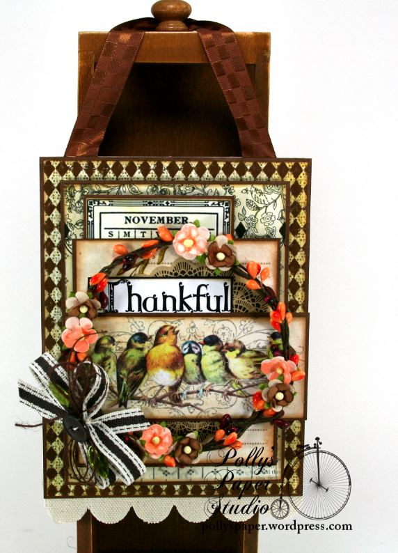 Thankful Birds Wall Hanging 5