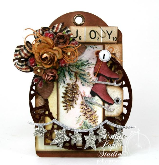 Winter Woodland Christmas Tag 2