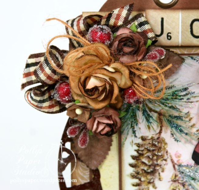 Winter Woodland Christmas Tag 4