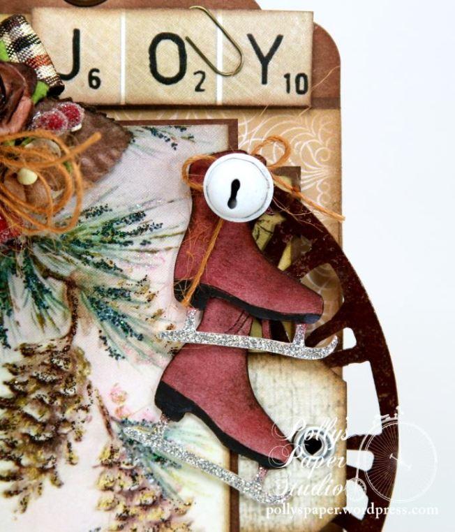 Winter Woodland Christmas Tag 5