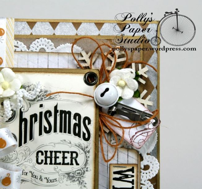 All that Glitters Christmas Greeting Card Handmade.6JPG
