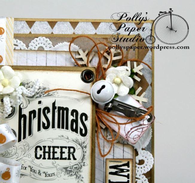 All that Glitters Christmas Greeting Card Handmade.6JPG
