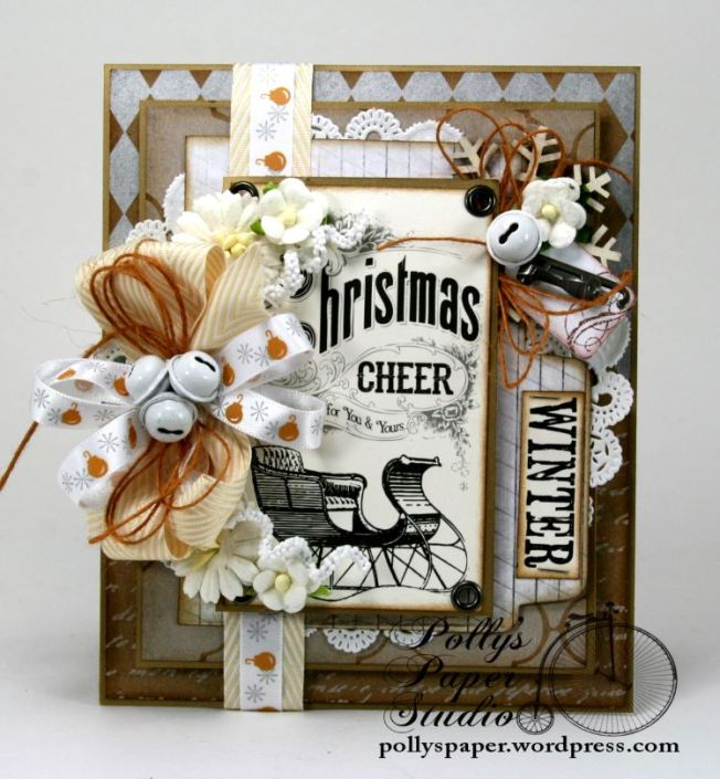 All that Glitters Christmas Greeting Card Handmade3