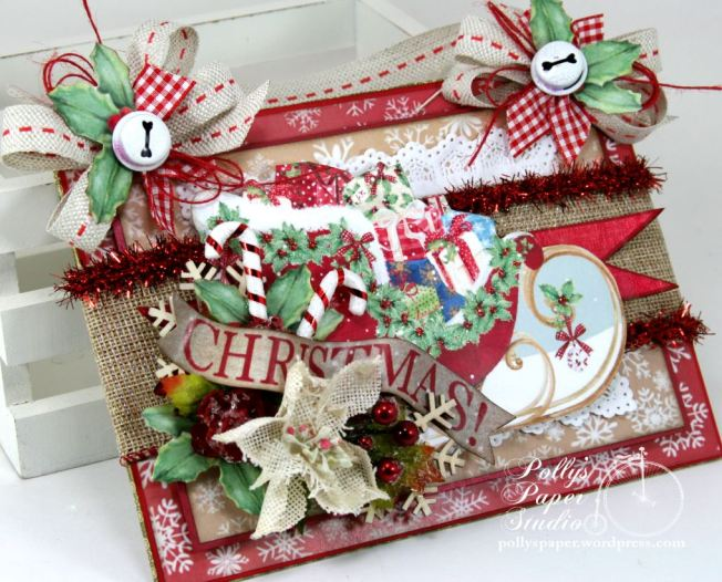 Christmas Sleigh Wall Hanging 5