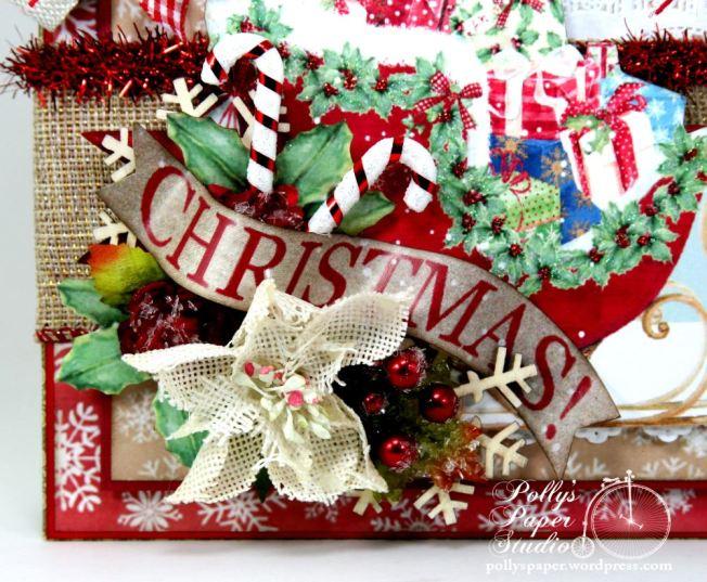 Christmas Sleigh Wall Hanginging 3