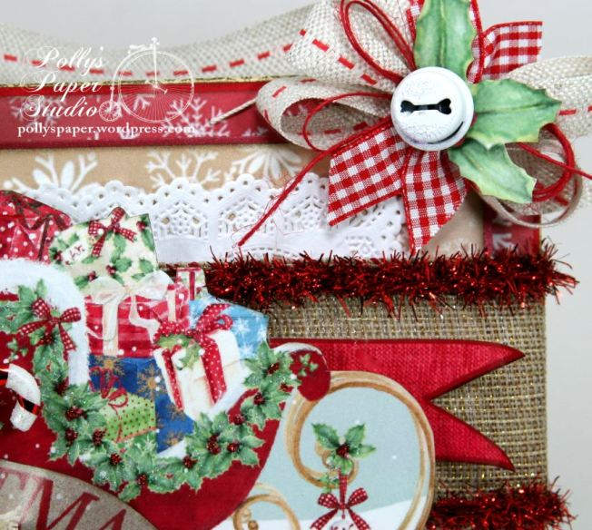 Christmas Sleigh Wall Hanginging 4