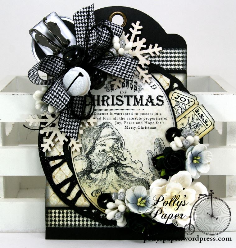 Christmas Tag Black And White | Search Results | Calendar 2015