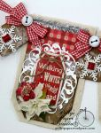 Country Chic Christmas Banner Holiday Home Decor Handmade3