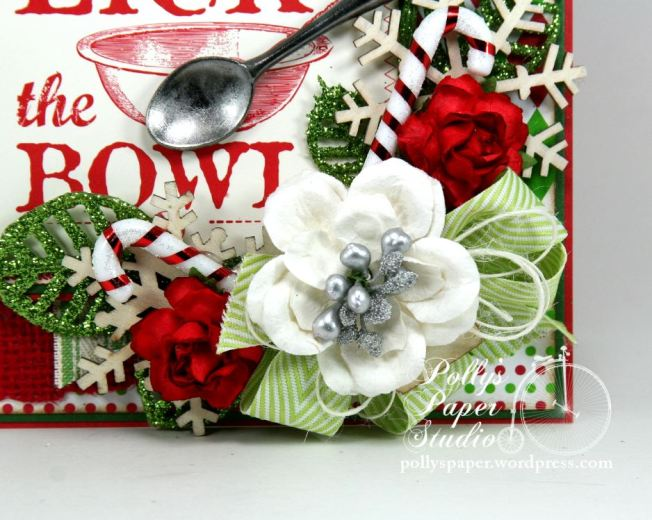 Lick the Bowl Christmas Greeting Card 4