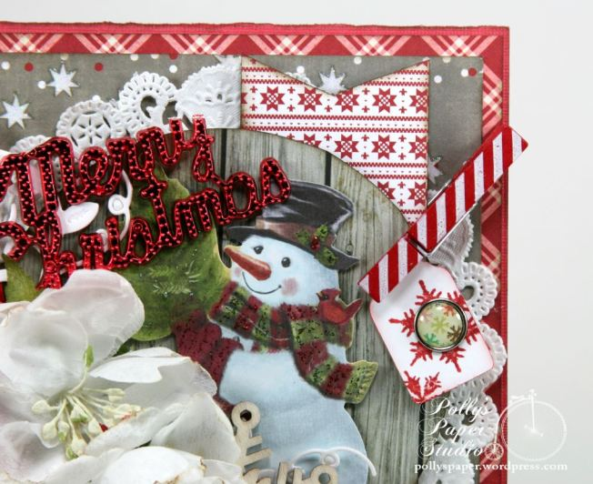 Merry Christmas Snowman Greeting Card 4