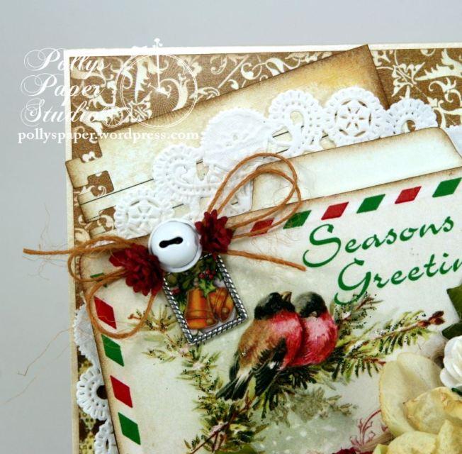 Seasons Greeting Winter Bird Card 5