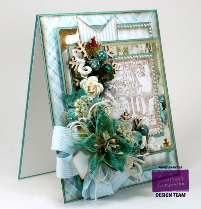 Shabby Blue Joy Card 7