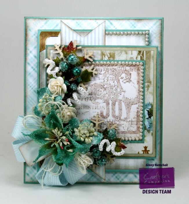 Shabby Blue Joy Card 8