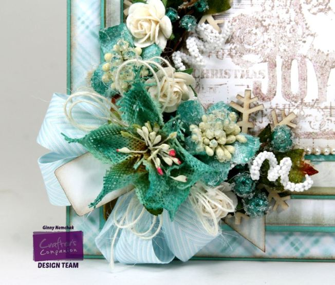 Shabby Blue Joy Card 9