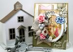 Shabby Pink Church Card1