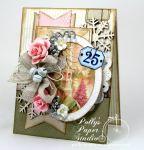 Shabby Pink Church Card2
