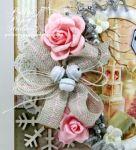 Shabby Pink Church Card5