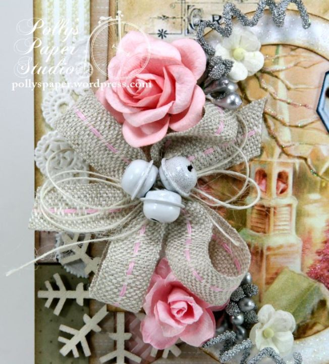 Shabby Pink Church Card 5