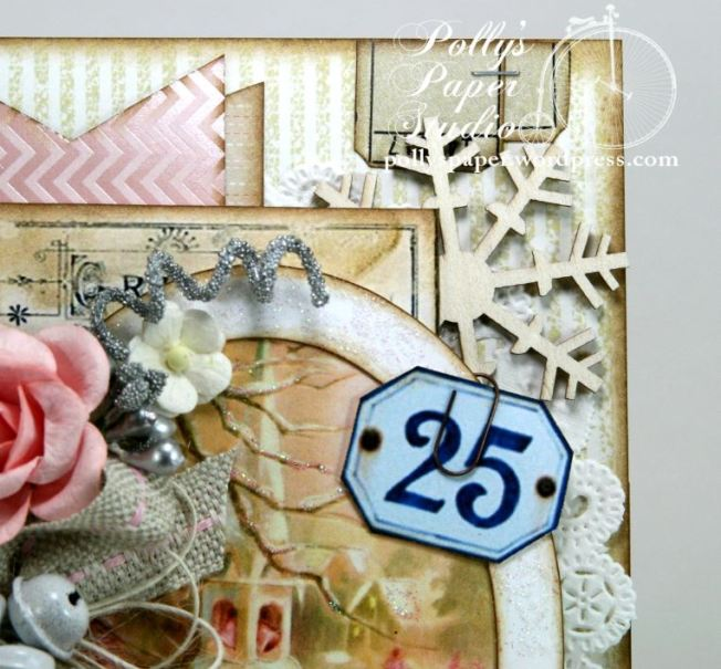 Shabby Pink Church Card 6