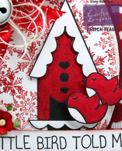 A Little Birdie Told Me it's Christmas Card Crafter's Companion 4