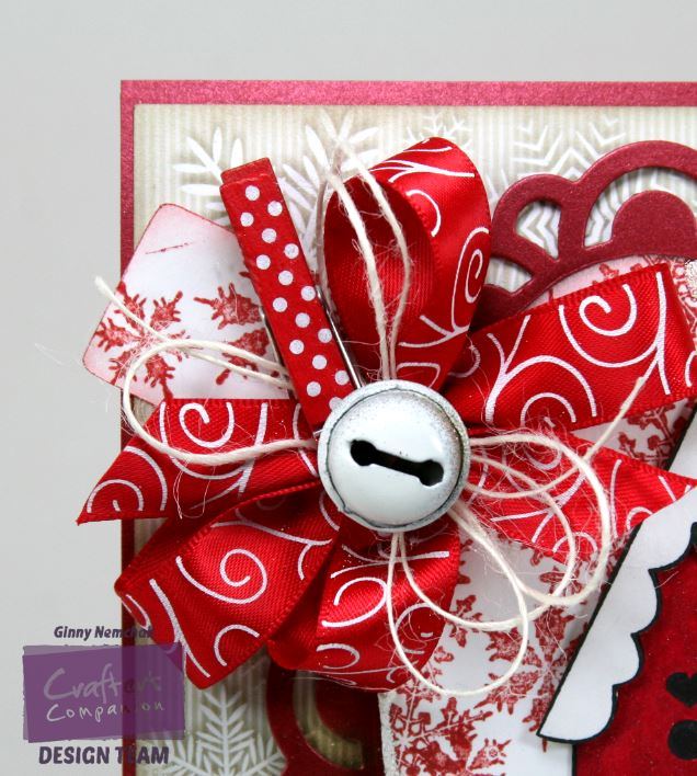 A Little Birdie Told Me it's Christmas Card Crafter's Companion 5