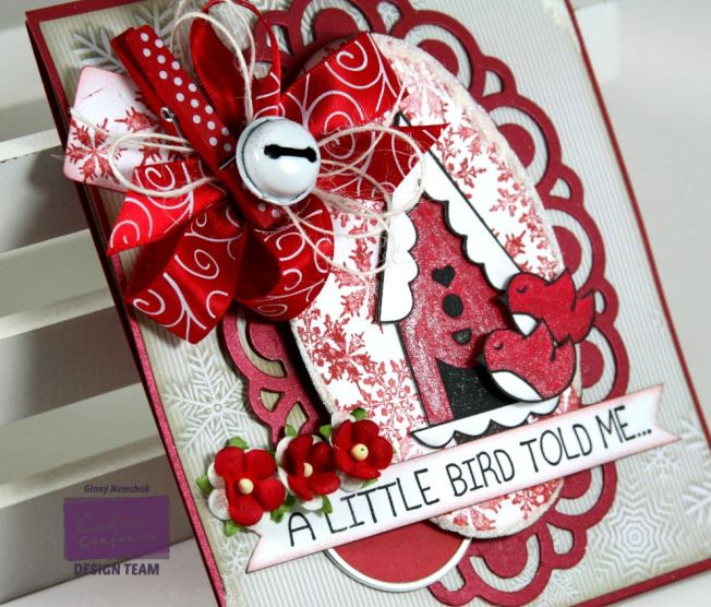 A Little Birdie Told Me it's Christmas Card Crafter's Companion 6