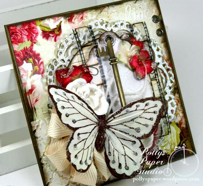 Butterfly Card Crafty Secrets 1