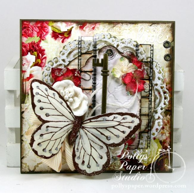 Butterfly Card Crafty Secrets 3