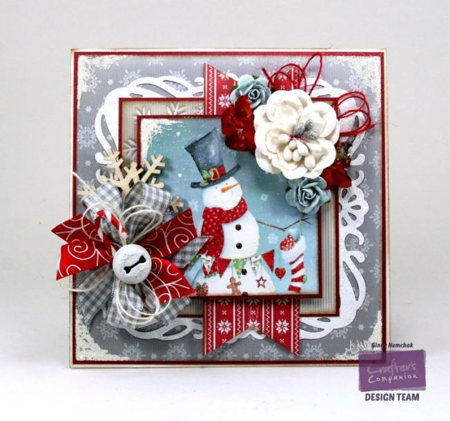 Jolly Snowman Card Crafter's Companion 1