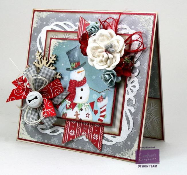 Jolly Snowman Card Crafter's Companion 2