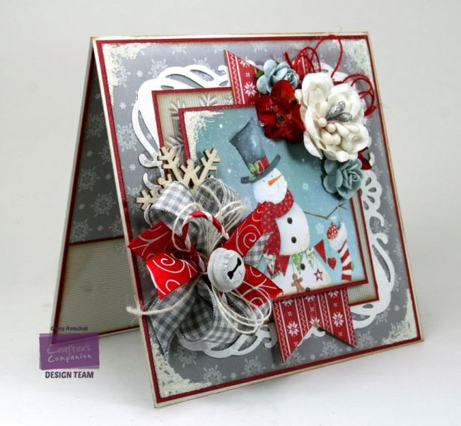 Jolly Snowman Card Crafter's Companion 3