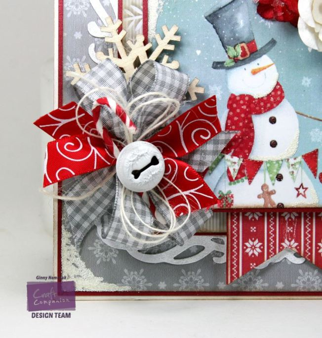 Jolly Snowman Card Crafter's Companion 4
