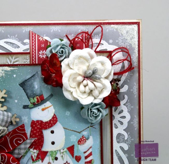 Jolly Snowman Card Crafter's Companion 5
