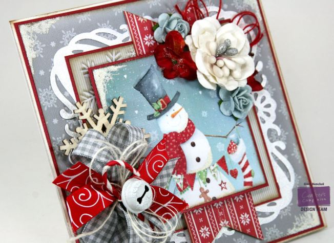 Jolly Snowman Card Crafter's Companion 6