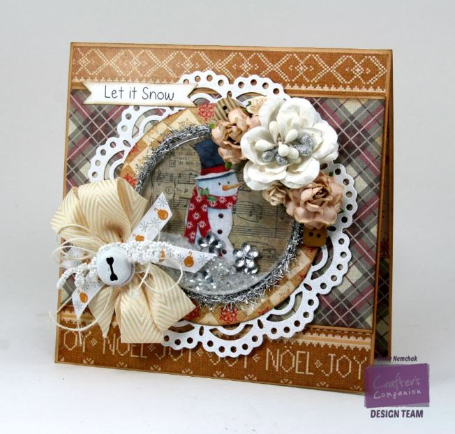 Let it Snow Shaker Card Crafter's Companion 1