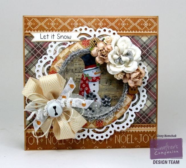 Let it Snow Shaker Card Crafter's Companion 2