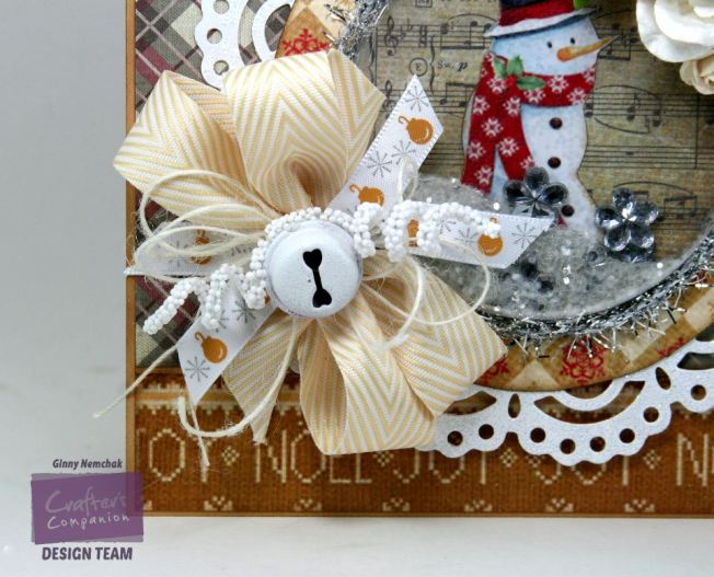 Let it Snow Shaker Card Crafter's Companion 3