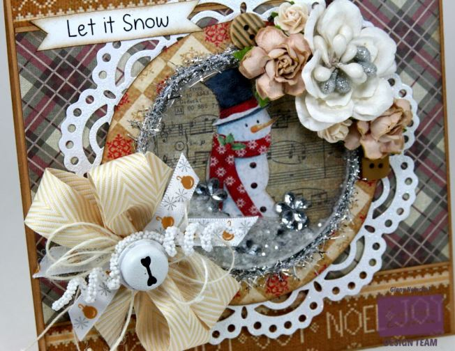 Let it Snow Shaker Card Crafter's Companion 5