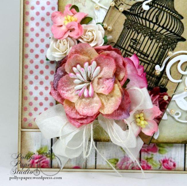 Paris Birdcage Card Pollys Paper 4
