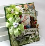 Sparkle and Shine Santa Greeting Card7