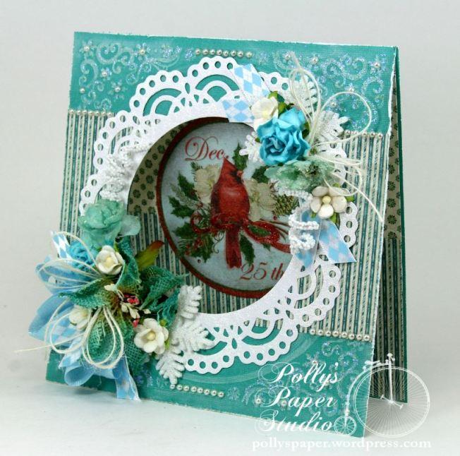 Winter Birds Christmas Greeting Card 1