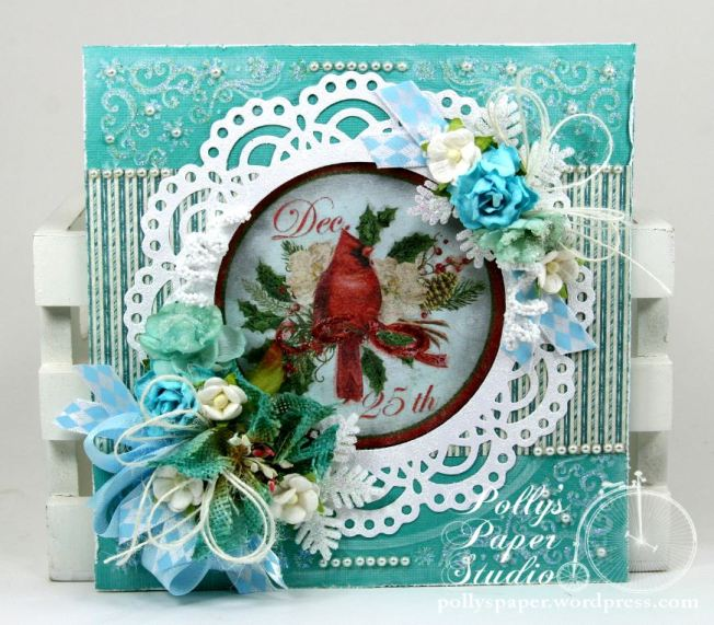 Winter Birds Christmas Greeting Card 2